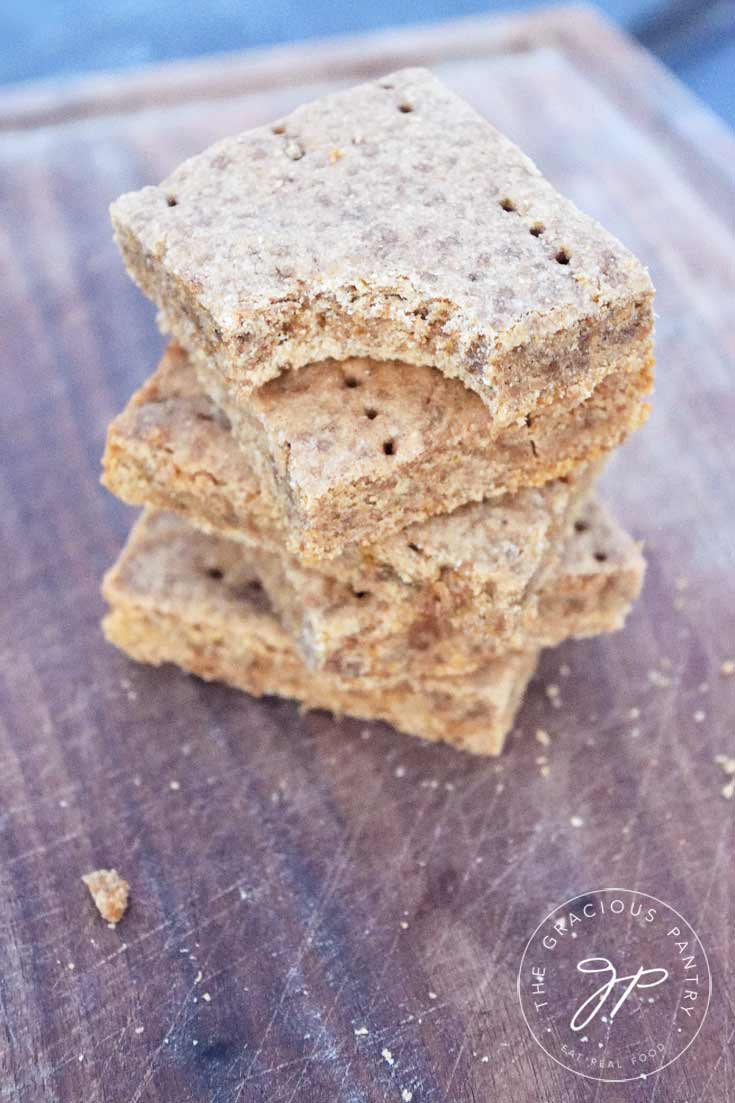 Clean Eating Gingerbread Shortbread Recipe Ready To Eat