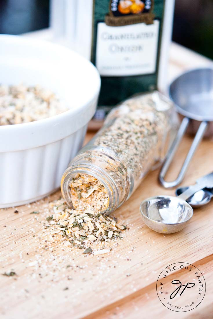Clean Eating Onion Soup Mix Recipe Jarred