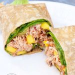 Clean Eating Mango Chicken Wraps Recipe