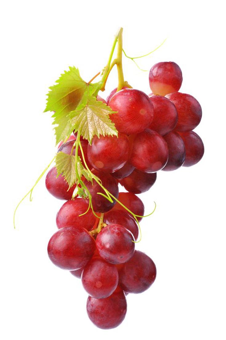 Grapes make the list of these Clean Eating New Year's Eve Good Luck Foods