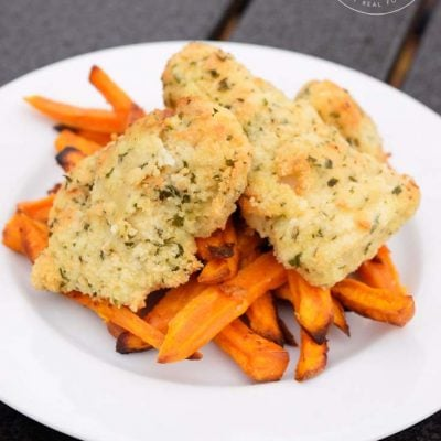 Clean Eating Air Fryer Fish N' Chips Recipe