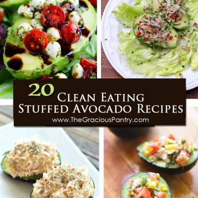 20 Clean Eating Ways To Stuff An Avocado