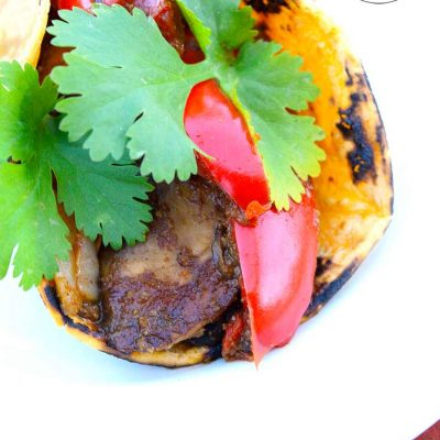 Clean Eating Portobello Mushroom Tacos Recipe