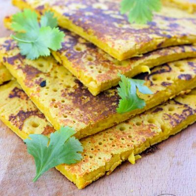 Chickpea Flour Flatbread Recipe