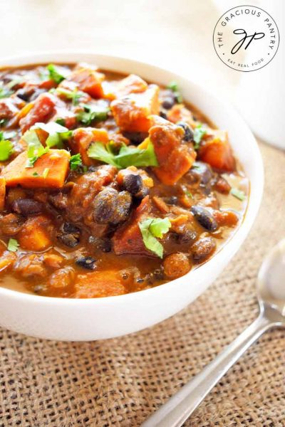 Clean Eating Curried Sweet Potato Chowder Recipe