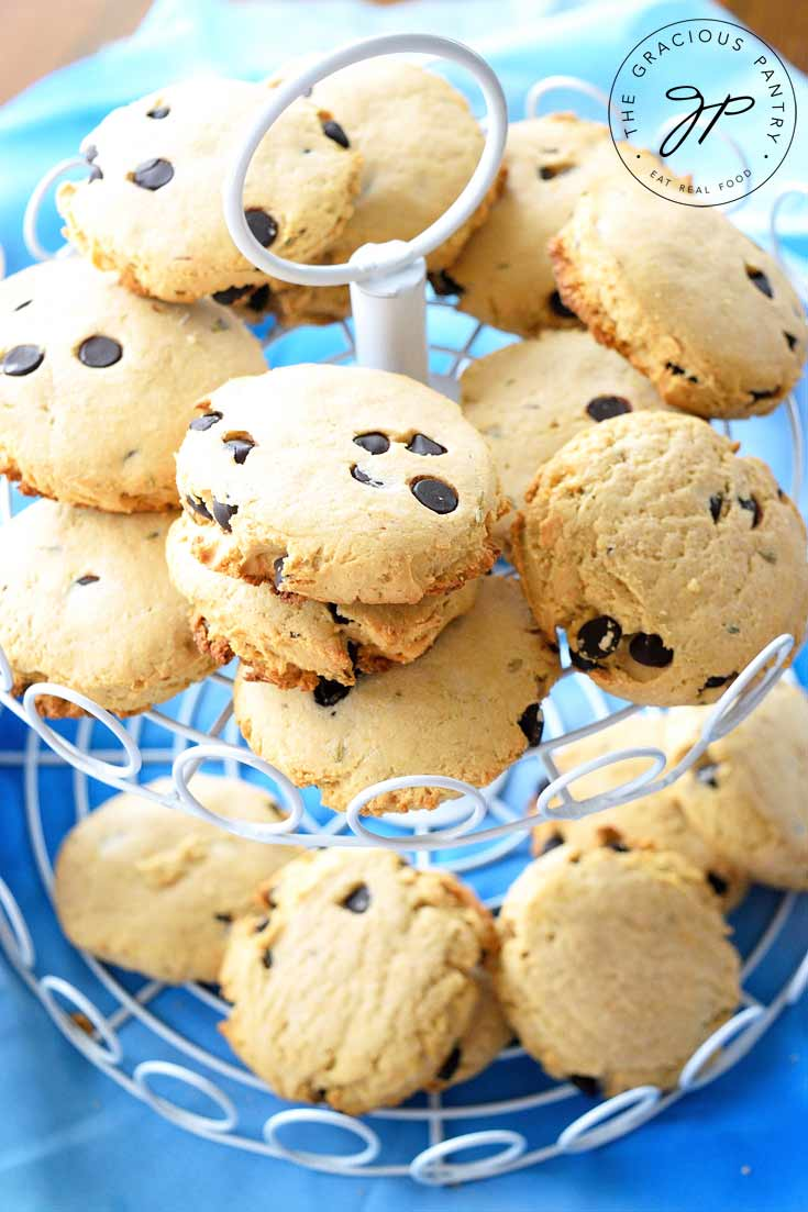 Tea Biscuits Recipe With Lavender and Chocolate Chips