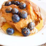 Clean Eating Loaded Breakfast Sweet Potato Recipe