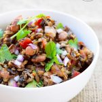 Clean Eating Mexican Wild Rice Salad Recipe