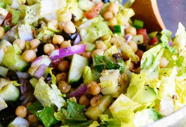 Clean Eating Italian Chopped Salad Recipe
