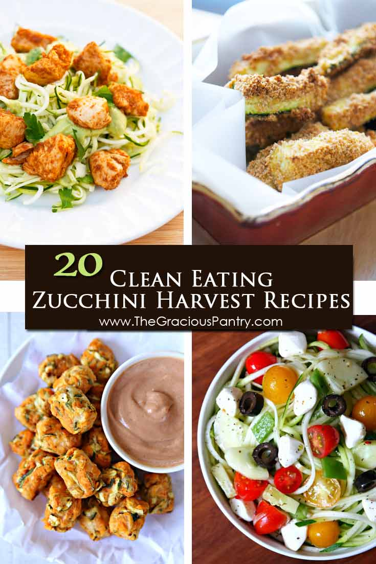 20 Clean Eating Zucchini Harvest Recipes