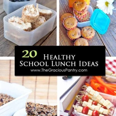 20 Back To School Lunch Ideas For Kids