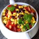 Clean Eating Black Bean Corn Salad Recipe