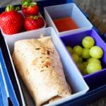 Clean Eating Lunch Box Burritos Recipe