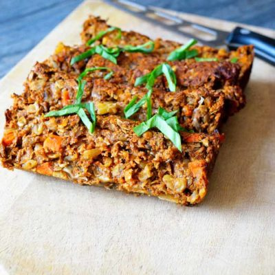 Clean Eating Lentil Loaf Recipe
