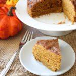 Clean Eating Pressure Cooker Pumpkin Spice Cake Recipe