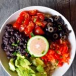 Clean Eating Southwestern Quinoa Bowl Recipe