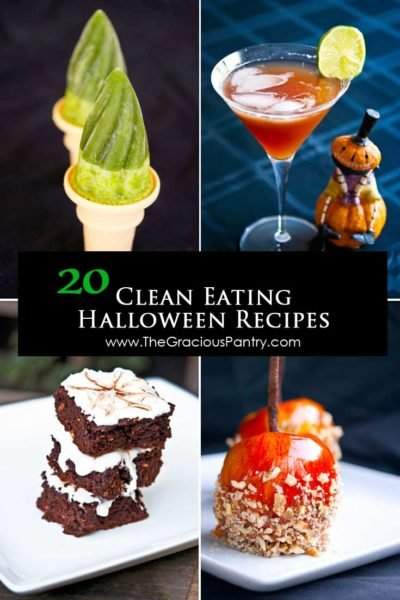Spooktacular Clean Eating Halloween Treats