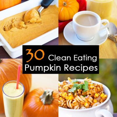 30 Clean Eating Pumpkin Recipes