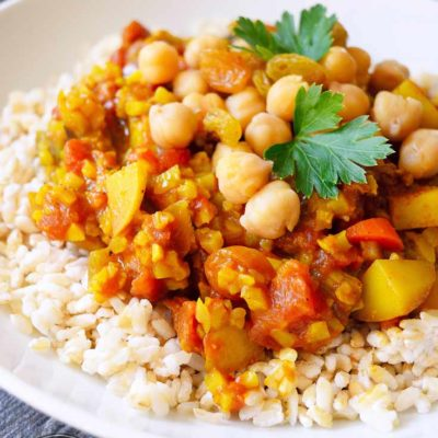 Clean Eating Vegetable Curry Recipe