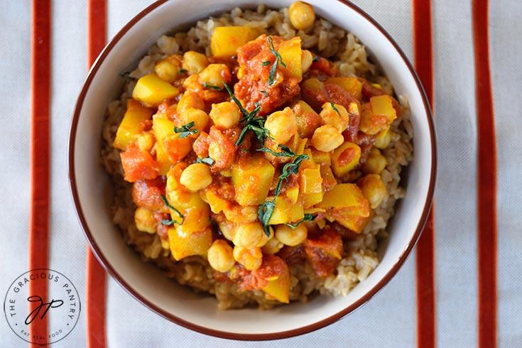 Clean Eating Bombay Potatoes Recipe