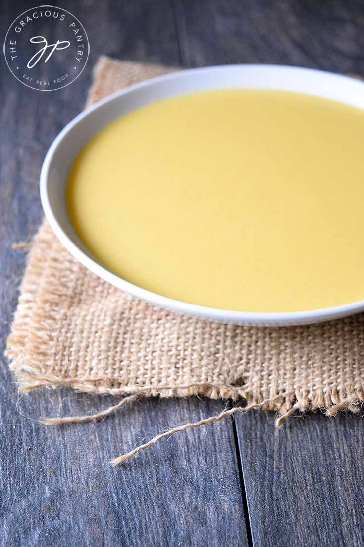 Clean Eating Buttered Crookneck Squash Soup Recipe