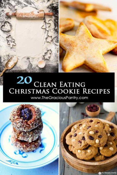 Clean Eating Christmas Cookies