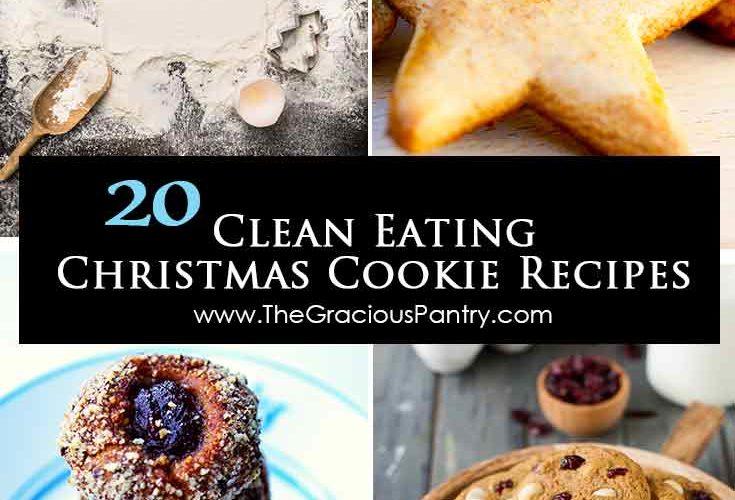 Clean Eating Christmas Cookies