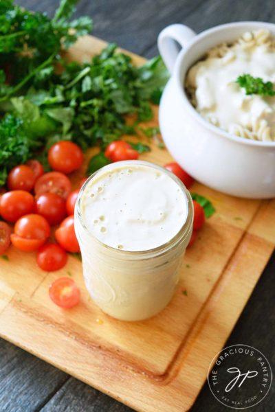 Clean Eating Cashew Alfredo Sauce Recipe