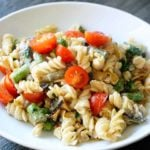 Clean Eating Cashew Alfredo Vegetable Pasta Recipe