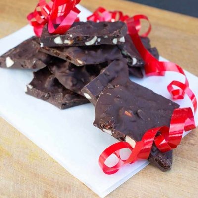 Clean Eating Chocolate Bark Recipe