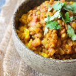 Clean Eating Brown Lentil Dal Recipe