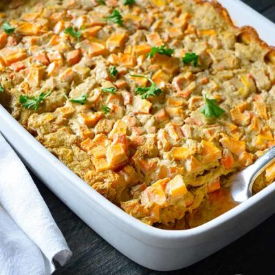 Clean Eating Butternut Rice Casserole Recipe