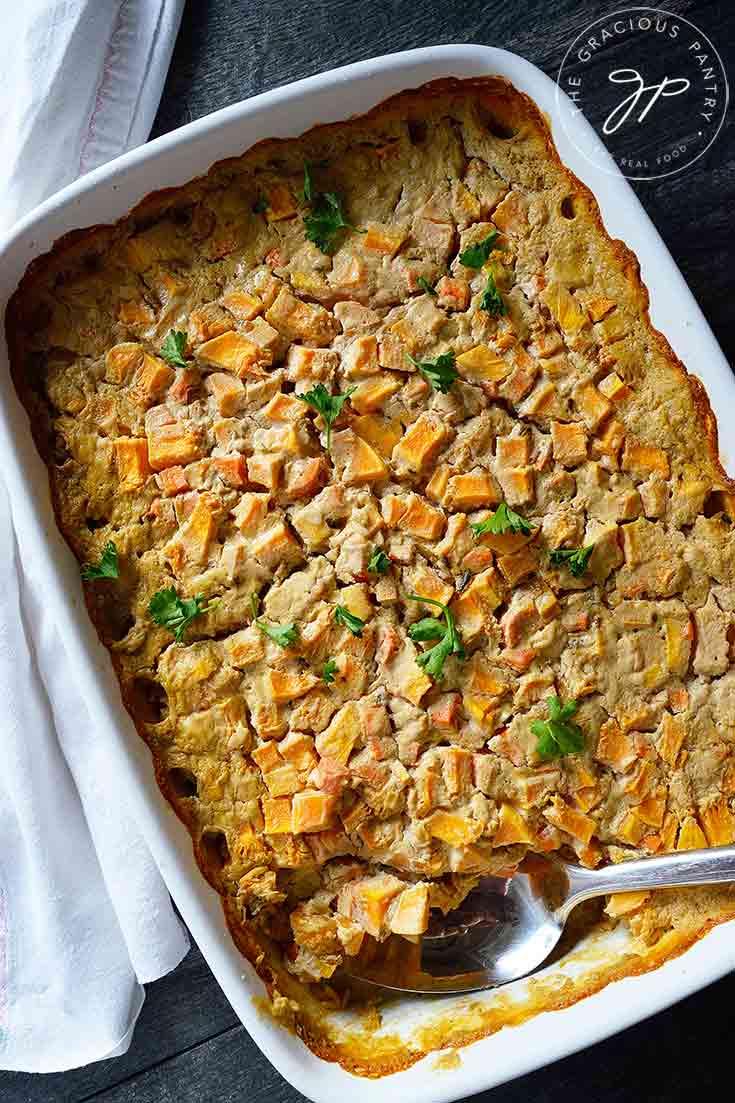Clean Eating Butternut Rice Casserole Recipe