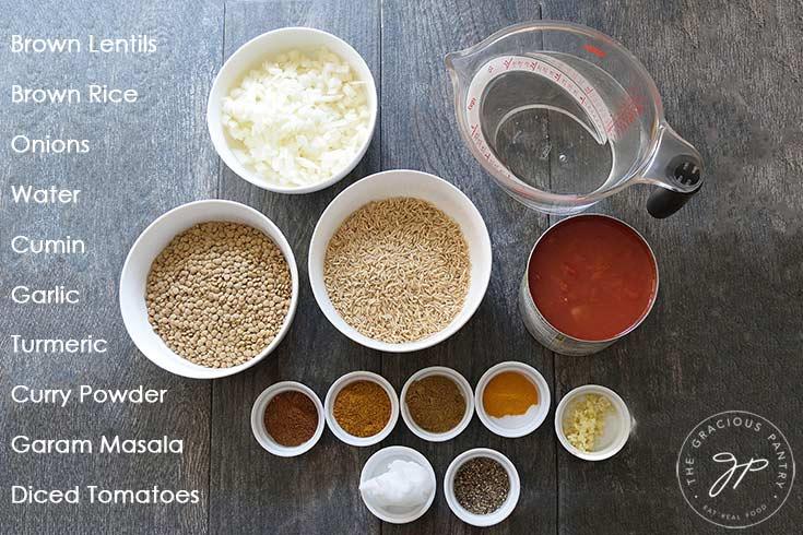 Clean Eating Brown Lentil Dal Recipe