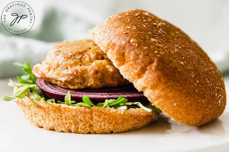 Baked Turkey Burgers The Gracious Pantry Clean Eating Recipes
