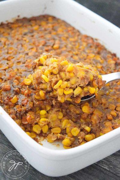 Clean Eating Corn Casserole Recipe