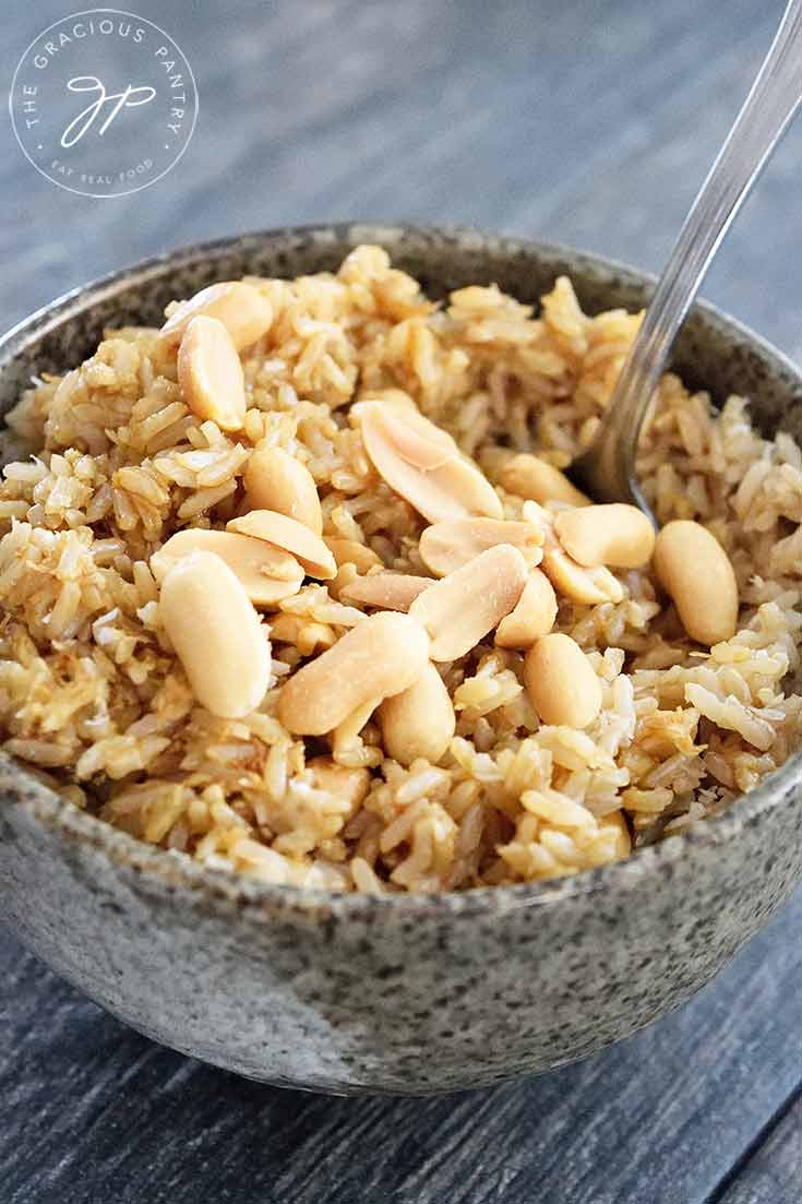 Clean Eating Instant Pot Coconut Rice Recipe