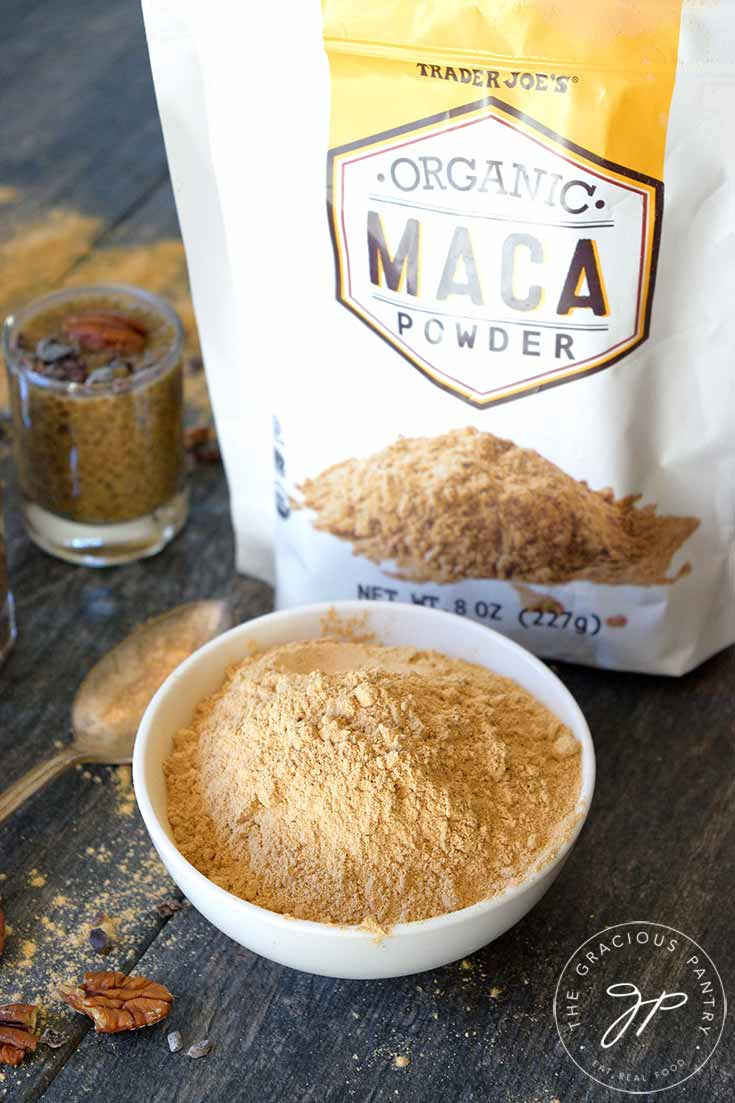 Clean Eating Maca Chia Seed Pudding Recipe