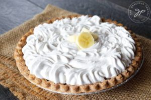 Clean Eating Banana Cream Pie Recipe