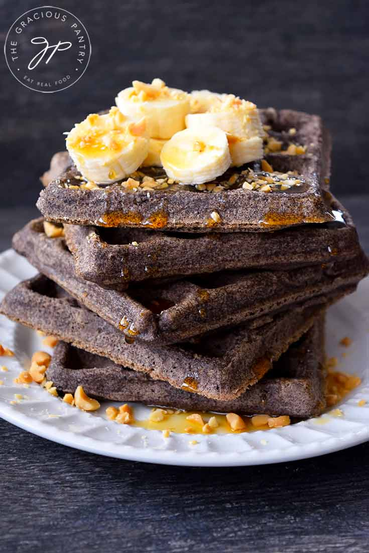 Clean Eating Buckwheat Waffles Recipe