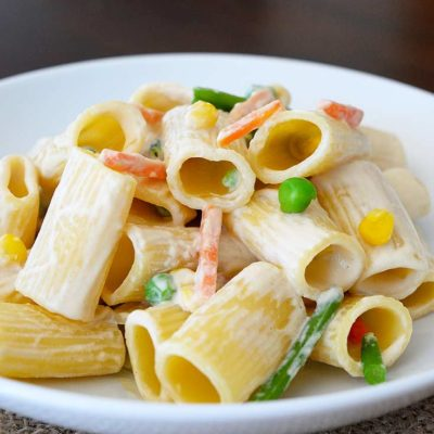 Creamy Vegetable Pasta Recipe