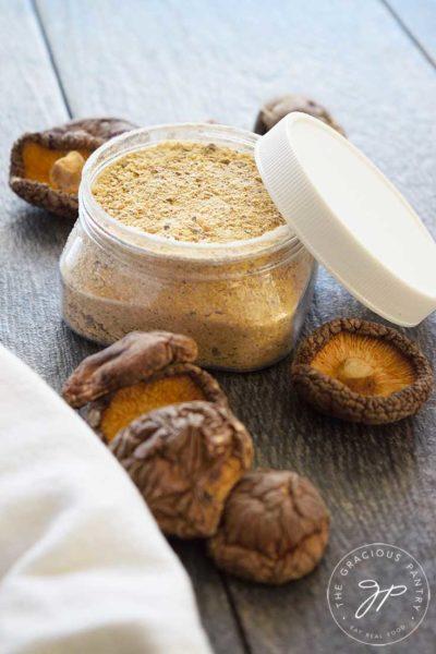 Clean Eating Mushroom Soup Mix Recipe