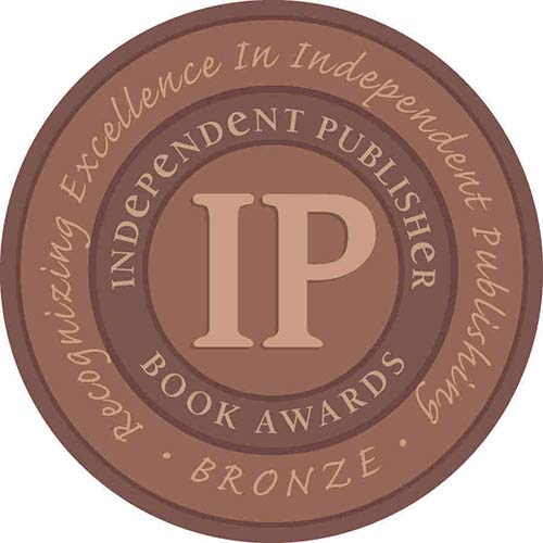 The IPPY bronze medal award given to the cookbook, clean eating freezer meals.