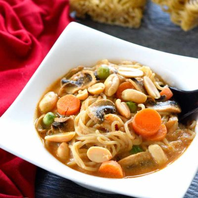 Clean Eating Thai Ramen Soup Recipe