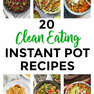 20 Healthy Instant Pot Recipes