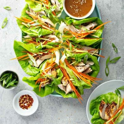 Easy Lettuce Wraps For Clean Eating