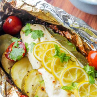 Clean Eating Fish Foil Packet Recipe