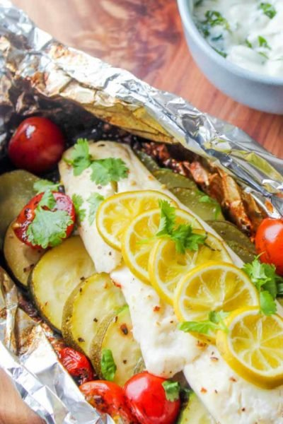 Clean Eating Fish Foil Packets Recipe