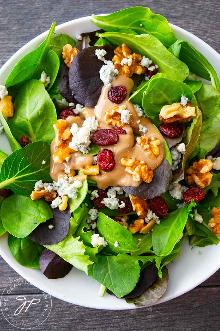 Cranberry Walnut Salad Recipe