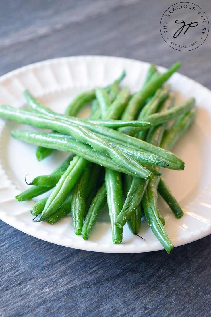 Air Fryer Green Beans Recipe (Air Fryer)